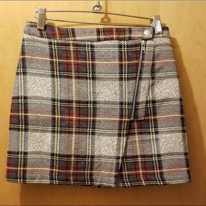 Top Shop Plaid Skirt